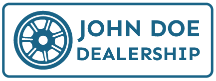 John Doe Dealership's logo.